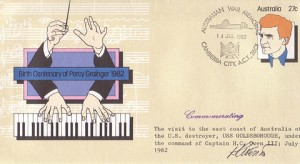 Birth Centenary of Percy Grainger 1982